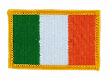 FLAG PATCH PATCHES IRELAND IRISH  IRON ON COUNTRY EMBROIDERED WORLD SMALL