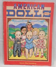 American Dolls of 20 Century Coloring & Story Vntg.Book 1985    See Pics.