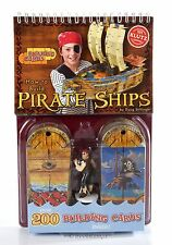 Build 3D Pirate Ship model set Activity Kit Party Favor Decor Toy Figure w cards