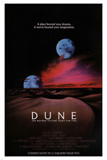 david LYNCH'S DUNE movie poster science fiction DREAMS FANTASY 24X36 new - VW0