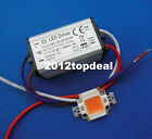 10W LED Waterproof Driver Supply + 10w full spectrum led grow chip 380-840nm