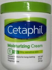 Cetaphil Moisturizing Cream For Dry Sensitive Skin 20oz