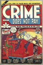 Crime Does Not Pay #82-1950 fn/vg Charles Biro / Dan Barry pre-code Crime