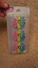 Blinged multi colored  daisy iphone 5C case