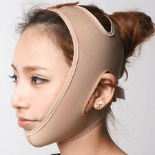 Wrinkle Face Chin Cheek Lift Up Slimming Slim Mask Ultra-thin Belt Strap Band OS