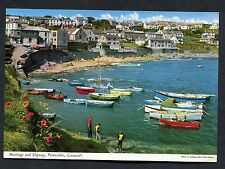 C1970's View of Boats, Moorings & Slipway, Portscatho, Cornwall.