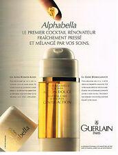 PUBLICITE ADVERTISING 064  1995  GUERLAIN    cosmétiques 36