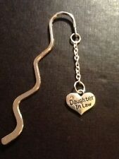 book mark. Daughter in law silver plated.   Book mark