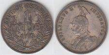 + Gertbrolen+ Deutsch Ostafrika  GuiIelmus II  1 Rupie Argent 1913  A