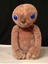 "Kamar VINTAGE 1980's E.T. EXTRA TERRESTRIAL 16"" Plush STUFFED ANIMAL Toy"