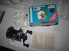 A1 abu sweden ambassadeur 6500C 6500 C multiplier sea fishing reel  & box etc