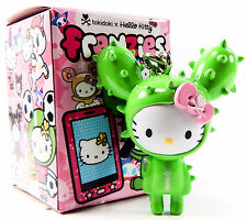 Tokidoki x Hello Kitty Frenzies SANDY Green Cactus Friend Zipper Pull Figure