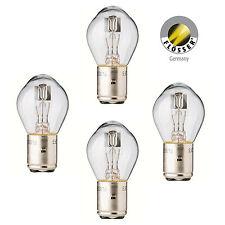 4 x Lampe BA20d Sockel 12V 35/35W Bilux Klar Birne Glühbirne von Flösser