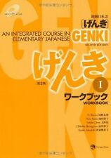 Genki I: An Integrated Course in Elementary Japanese Workbook by Eri Banno...
