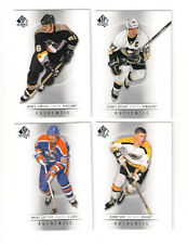 (4) 12/13 SP GRETZKY-ORR-LEMIEUX-CROSBY CARD LOT