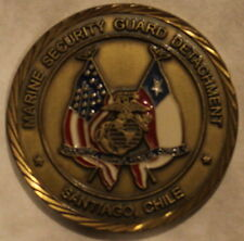 Marine Security Guard DET Department of State Santiago Chile Challenge Coin