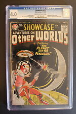 SHOWCASE #17 ORIGIN First ADAM STRANGE Scarce 1958 DC SA Key Gil Kane CGC VG 4.0