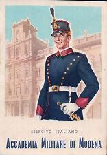 Accademia Militare di Modena Cartolina Pubblicitaria anni '40-50 POSTCARD C4-74