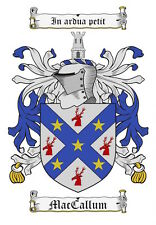 Surname Coat of Arms (Family Crest) PNG Image Sent on a CD