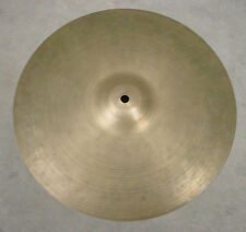 "VINTAGE ZILDJIAN 14"" HI HAT/ CRASH CYMBAL 660 grams"