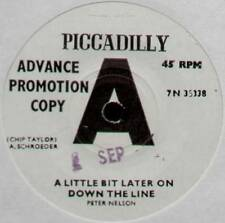 [CHIP TAYLOR] PETER NELSON~A LITTLE BIT LATER ON DOWN THE LINE~1966 UK PROMO 7""