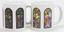 Wonder Mugs Color Changing Stained Glass with Angels Coffee Cup Mug