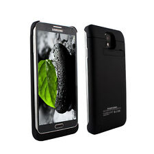 4200mAh External Backup Battery Charger Case for Samsung Galaxy Note 3 Black