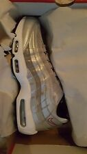 Nike Air Max 95 Silver Bullet Premium QS Mens SIZE 12 SOLD OUT 918359-001