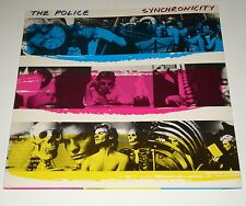 THE POLICE Synchronicity - Rare LP Spain 1991 - repress - NEAR MINT!!!