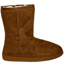 Dawgs Women's Microfibre 9-Inch SheepDawg Boots Chestnut Brown Size: 9 Short