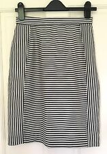 COS skirt size 10 Striped