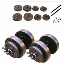 Golds Gym 40 Lb Dumbbell Set Adjustable Hand Weights Dumbbells Workout NEW