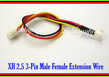 JST-XH 3-Pin 2S 7.4V LiPo 2S Battery Balance Extension Male to Female wire 2 pcs
