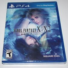 Final Fantasy X/X-2 HD Remaster for Playstation 4 Brand New! Factory Sealed!