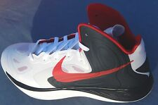 NIKE HYPERFUSE MENS SIZE 14 cut boxtop RED / WHITE / BLUE 525022-105 HYPERDUNK