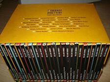 OPERA COMPLETA BOX COFANETTO  25 CD I GRANDI DIRETTORI D'ORCHESTRA ABBADO MUTI