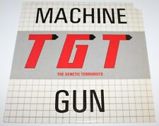 TGT (The Genetic Terrorists) - Machine Gun [Vinyl, 1988] USA Import WAX 058 *EXC