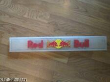 RED BULL WHITE~CLEAR~BAR~RAIL~SPILL~DRINK~RUBBER MAT~UNUSED