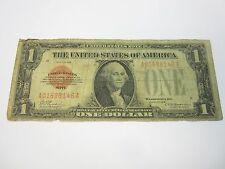 SERIES OF 1928 $1 RED SEAL SMALL NOTE