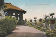 Antique POSTCARD c1915 Entrance to Home OAKLAND, CA Rotary Clubs 17699
