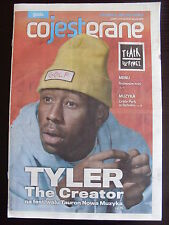 TYLER THE CREATOR on front cover Polish Magazine CO JEST GRANE in.Samantha Fox