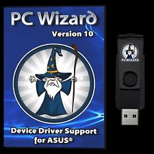 Drivers Restore Recovery Repair ASUS Desktops & Laptops 16GB USB Flash Drive
