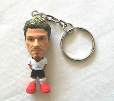 Microstars Key Ring MANCHESTER UTD (AWAY) BECKHAM Keyring Supplied Loose