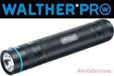 Walther Pro pl60 LED Torcia Flashlight MAX 500 lumen incl. BATT. + Holster