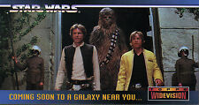 STAR WARS WIDEVISION A NEW HOPE PROMOTIONAL CARD SWP#0