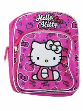 "Hello Kitty Pink Toddler Backpack 10"" BackPack for Kids - BRAND NEW"