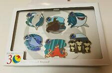 WDW - Pixar Party 2016 - Finding Dory Scavenger Hunt Pin Set LE 1100 Pin Set