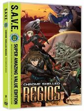 Chrome Shell Regios Complete Anime DVD Series Collection - English Sub & Dub Set