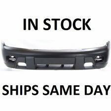 New Primered - Front Bumper Cover Fascia Replacement 2002-2008 Chevy Trailblazer