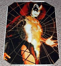 KISS Gene Simmons Spider Web 1978 Hitkrant Magazine Poster 17x24.5 Aucoin